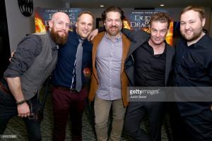 Erik Denton, Maclain Nelson, Adam Johnson, James Marsters, & Stephen Shimek Dragon Warriors Premiere