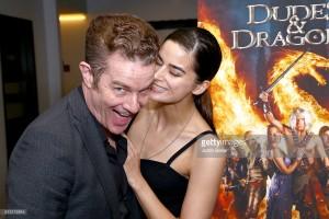 James & Jasmin Marsters Dragon Warriors Premiere
