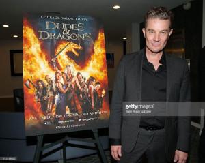 James Marsters Dudes & Dragons Premiere 29/02/16