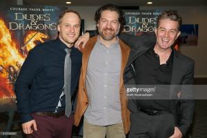 James Marsters, Maclain Nelson & Adam Johnson Dudes & Dragons Premiere 29/02/16