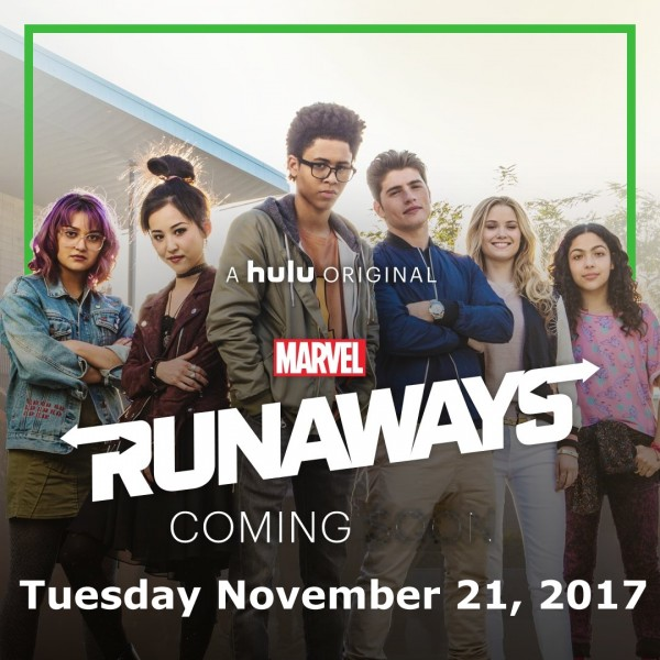 Marvel's Runaways Premiere Date