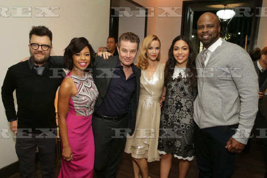 Kevin Weisman, Angel Parker, James Marsters, Annie Wersching, Allegra Acosta and Ryan Sands