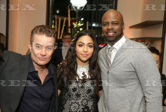 James Marsters, Allegra Acosta and Ryan Sands