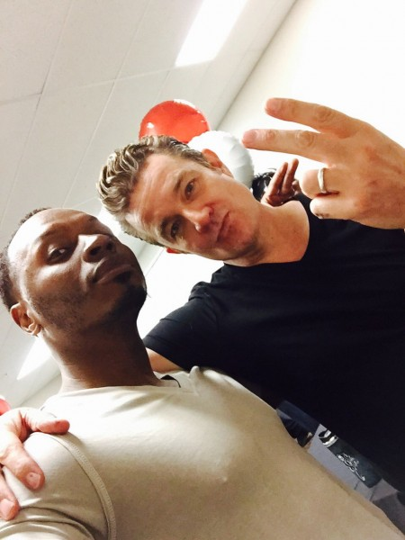 James Marsters & Malcolm Goodwin at Motor City Comic Con