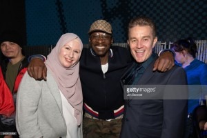 James Marsters, G. Willow Wilson, & Pete Rock at MoPOP Marvel Opening Ceremony in Seattle