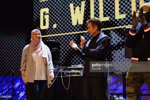 James Marsters & G. Willow Wilson at MoPOP Marvel Opening Ceremony in Seattle
