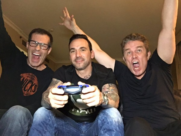 James Marsters, Jason David Frank & Mark Divine Filming VIDIOTS in Perth