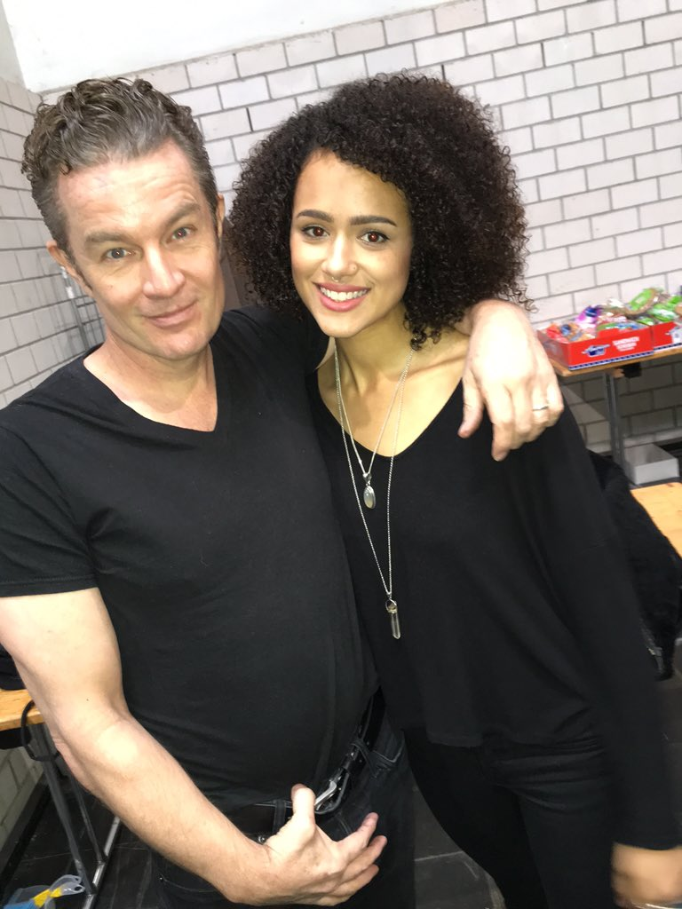 James Marsters & Nathalie Emmanuel German Comic Con