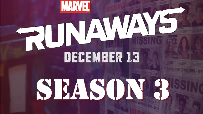 Marvel's Runaways Season 3 Premiere
