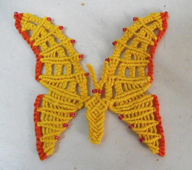 Бабочка - Макраме ?