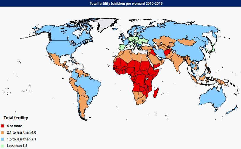 Рождаемость 2010-2015 г.