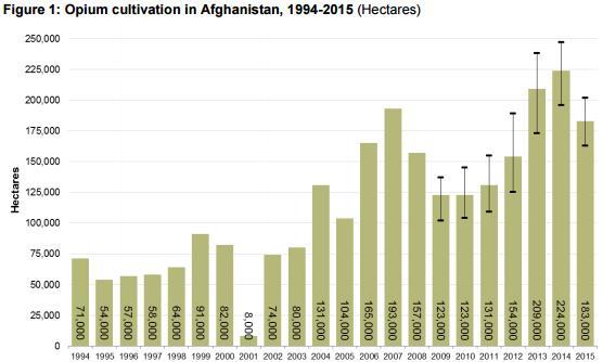 Культивация опийного мака в Афганистане [2]