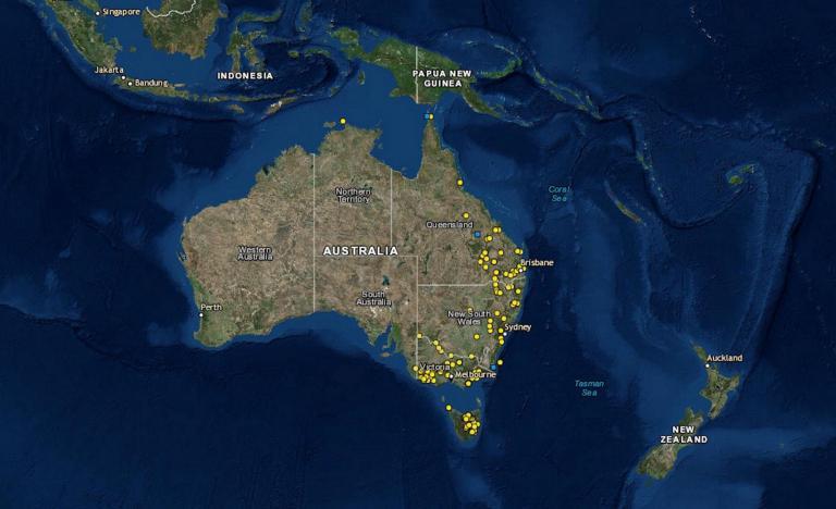 Историки составили карту массовых убийств австралийских аборигенов европейскими захватчиками