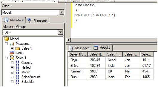 SQL Server interview question: - What is Tabular Model (SSAS