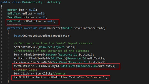 Lesson 3/Lab 3 :- Xamarin Android Activity Lifecycle