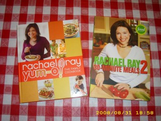 Rachael Ray - 3-Minute Meals 2 & Yum-o! - Front Covers