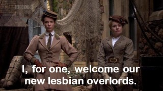 I, for one, welcome our new lesbian overlords.