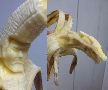 ART-- Banana Sculptures by Sue