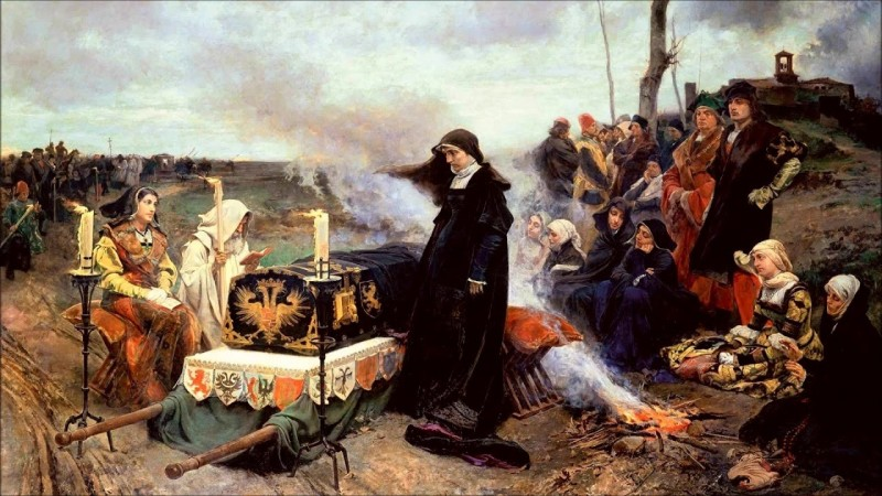 Хуана Безумная: любовь до гроба... и чуть-чуть после