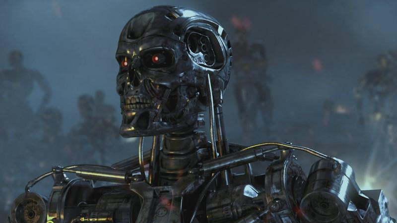 Чёрного робота застрелят первым