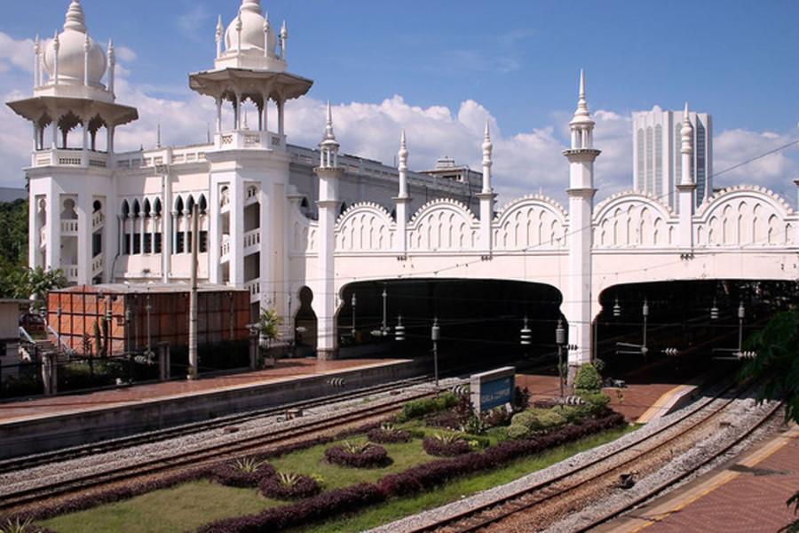 Railway-in-Malaysia-Bridge