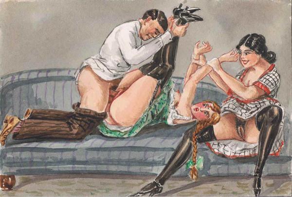 Порно рисунки ретро 79715 фотография