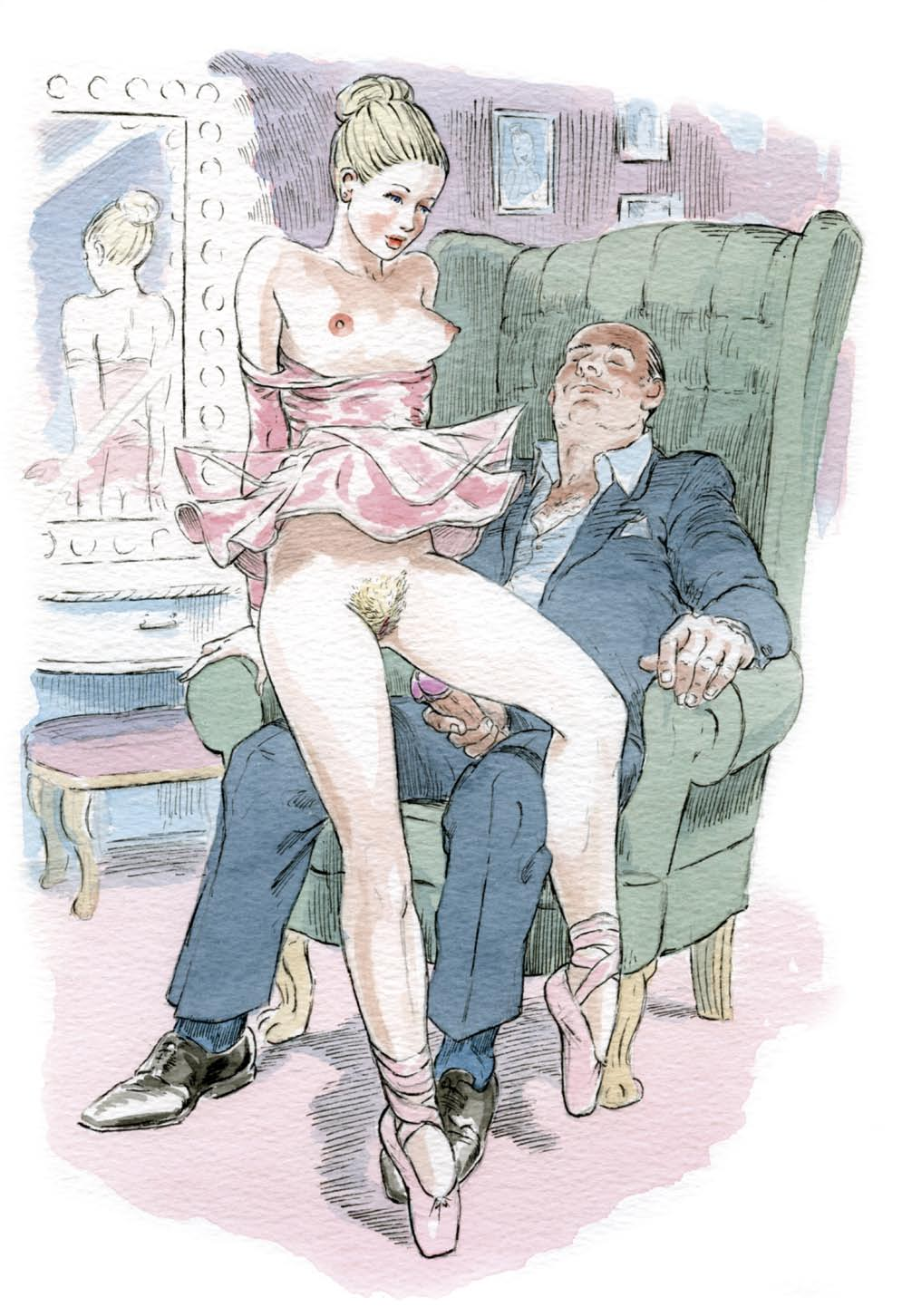 Напомнило ретро эротика рисунок бесплатно луг, махая