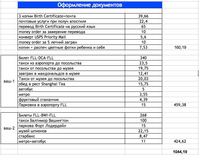 Оформление новорожденного в США. Российское гражданство и российский загранпаспорт