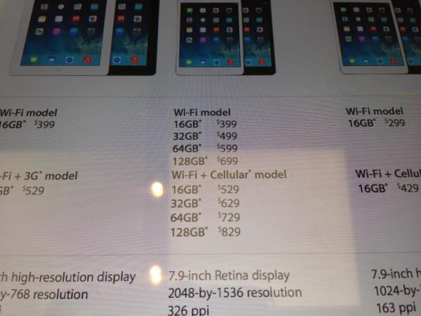 ipad mini retina prices apple store