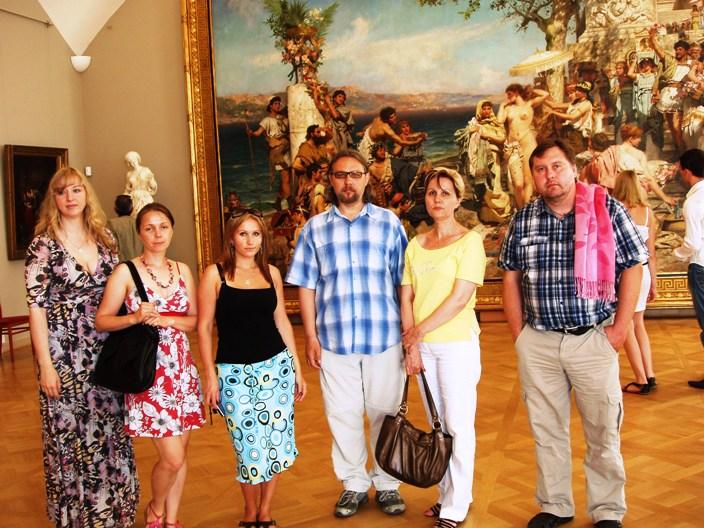 Русский музей. Эрос и Психея