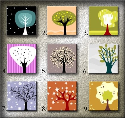 Тест личности Деревья