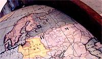 Готторпский глобус Петра I
