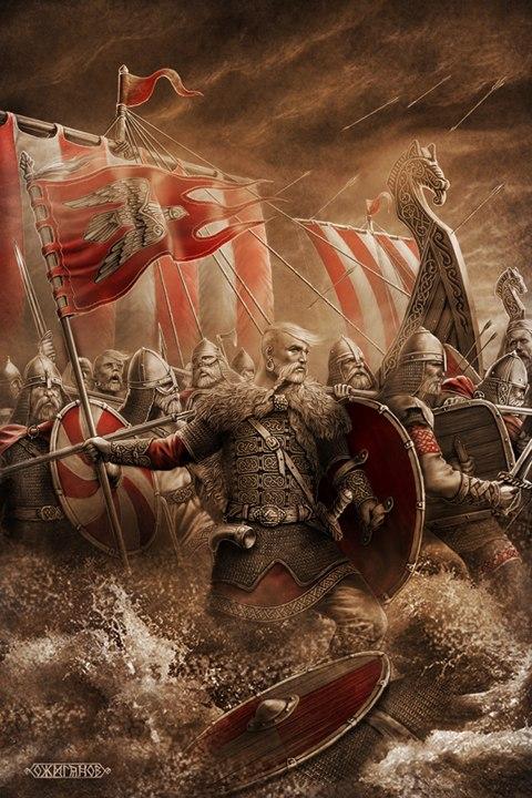 Игорь Ожиганов Святослав. Воины Севера