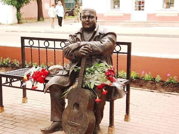 Михаил Круг памятник в Твери
