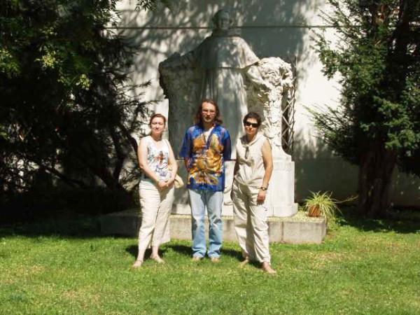Броно-2006 Памятник Менделю