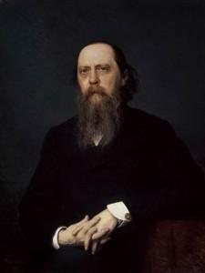 Салтыков-Щедрин портрет кисти Крамского