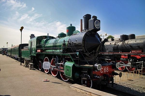Музей поездов в Петербурге