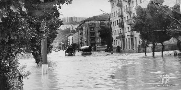 Сахалинское наводнение 1981 Холмск