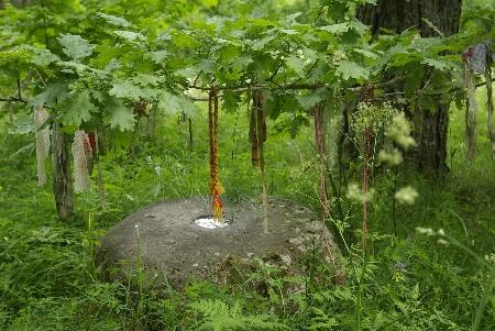 Эстония Священый камень