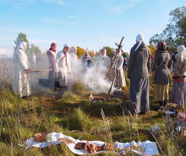 Эстония Языческое моление