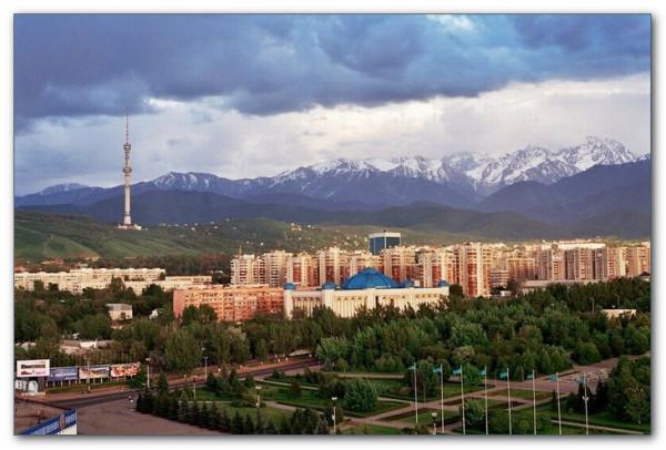 Алма-Ата горы Заилийский Алатау Тянь-Шань