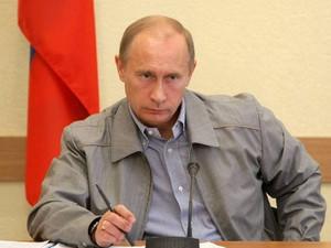 Путин В.В. строгий