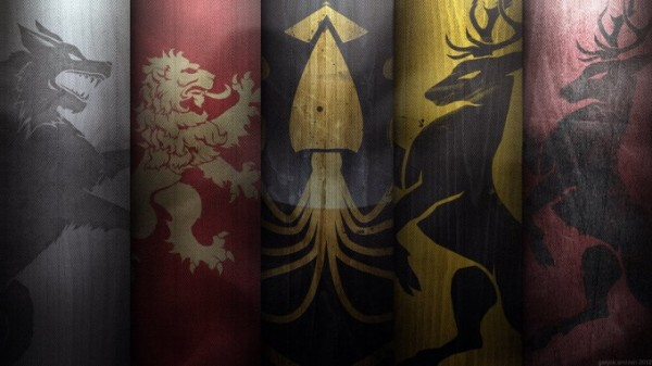 Война престолов гербы