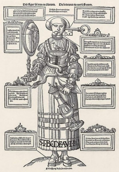 Идеальная женщина средневековый стандарт