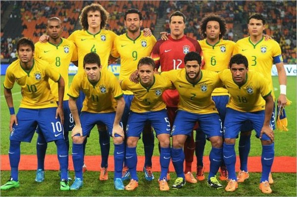 Боазилая футбольная сборная-2014