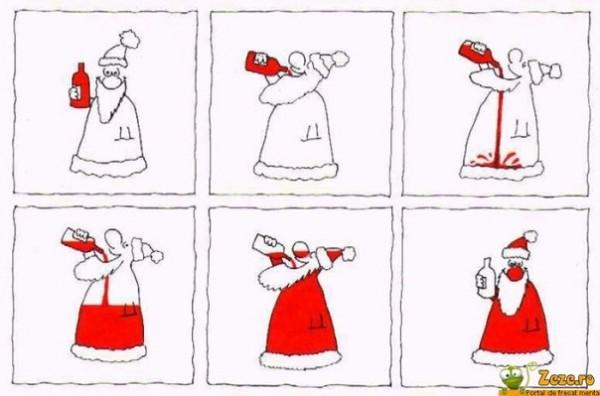 новый год и дед мороз юмор