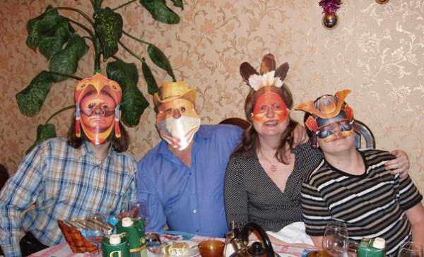 Слабинский Новый год 2009