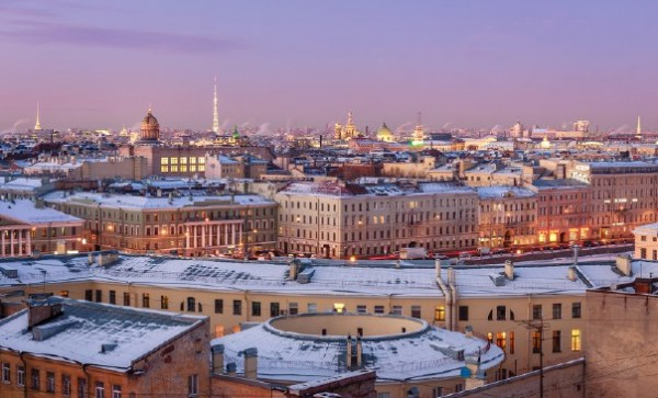 Петербург зимой 2015