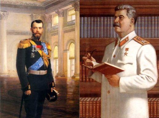 Сталин и Николай 2