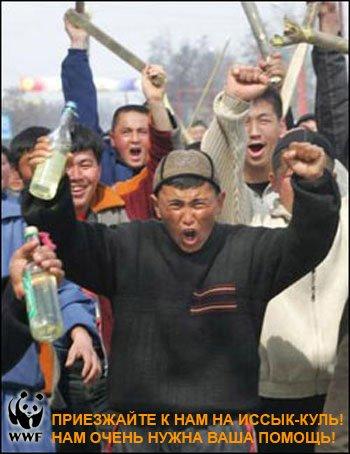 Не наступайте на киргизские грабли